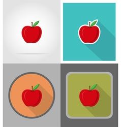 School education flat icons 15 vector