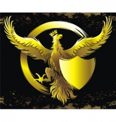 golden eagle vector image vector image
