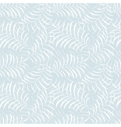 Floral frost seamless pattern vector image