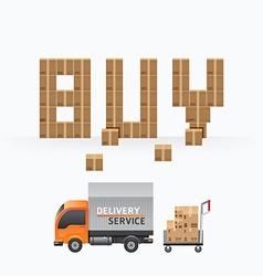 business box sale shape template designs vector image