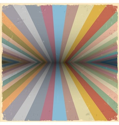 Retro abstract background vector image vector image