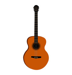 Spanish guitar vector
