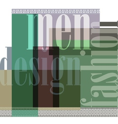 Fashion abstract background vector