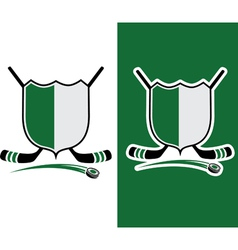 Hockey Sport Crest vector