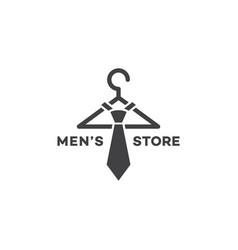 mens store logo vector image