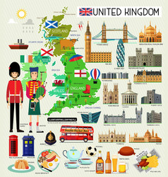 Kids Map Of England.England Kids Vector Images 95