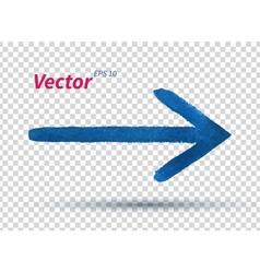 Watercolor arrow vector