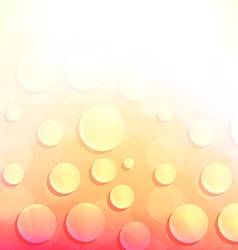 Abstract Background with Drops of Water vector image vector image