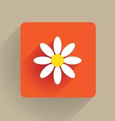 Flower Flat vector image