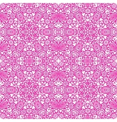 Seamless background with abstract ethnic pattern vector image