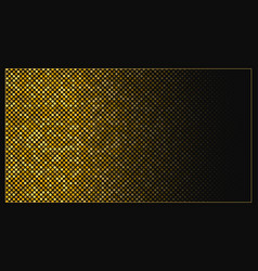 Abstract vintage halftone horizontal template vector
