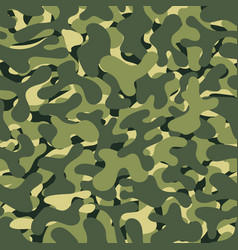 camouflage seamless background abstract army vector image