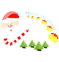 Christmas background merry vector