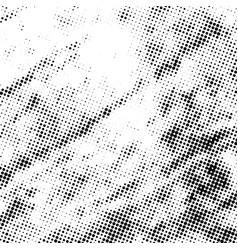 halftone grunge texture vector image