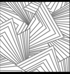 line pattern abstract shapes backgroun style vector image