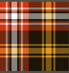 Seamless check plaid pattern vector
