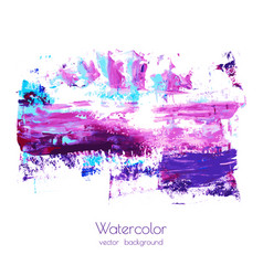 Violet pink purple magenta blue watercolor vector