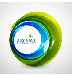 Abstract hi-tech circle vector