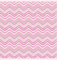 abstract wave seamless pattern fabric zig zag vector image