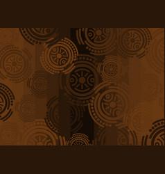 african print fabric ethnic ankara handmade vector image