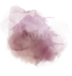 Dark purple abstract watercolor background vector