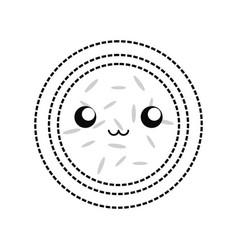 kawaii watermelon vector image