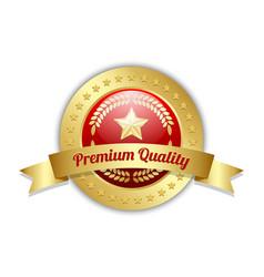 Premium quality symbol on white background vector