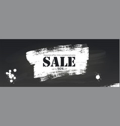 sale creative billboard for ad sales vector image