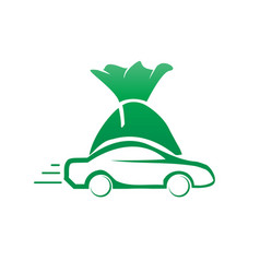 vehicle finance vector image