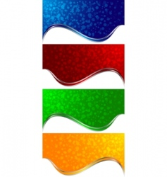 vector abstract banners vector image