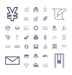 37 image icons vector