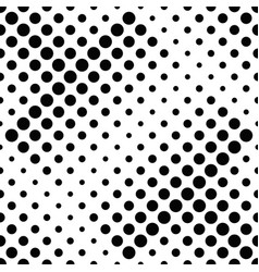 abstract seamless geometrical dot pattern vector image