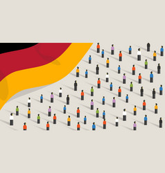germany independence anniversary celebration and vector image