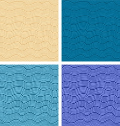 Patterns set vector image