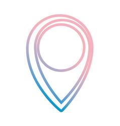 Pin location symbol vector