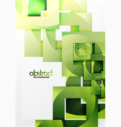 Square template background vector