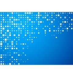 Circles technology blue banner vector image
