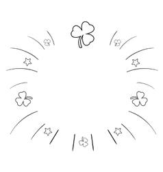 Summer background Sketchy vector image vector image