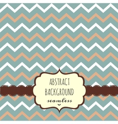Geometric background template vector image vector image