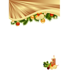 gold background vector image