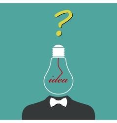 Creative Idea vector image vector image