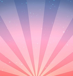 Abstract Vintage Sunrise Background vector image vector image