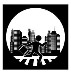 city concept vector image