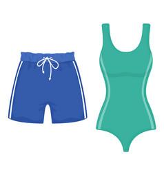 Beach summer holidays vector