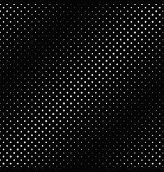 Black and white abstract dot pattern background vector