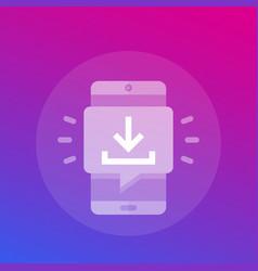 Download app icon vector