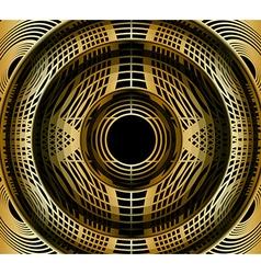 Gold modern stylish vector