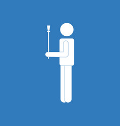 Icon on background man and sex stick vector
