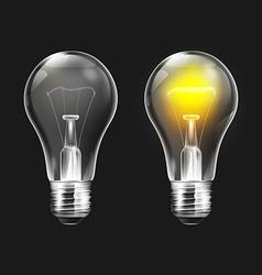 Lightbulb Set vector image