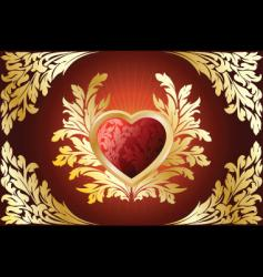 valentine antique vector image